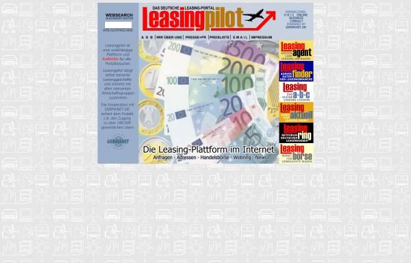 Vorschau von www.leasingpilot.de, Leasingpilot