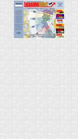 Vorschau der mobilen Webseite www.leasingpilot.de, Leasingpilot