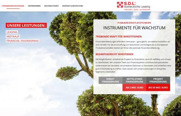 Vorschau von www.sueddeutsche-leasing.com, S.D.L Süddeutsche Leasing GmbH