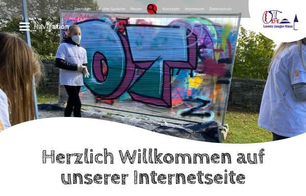 Vorschau von www.lorenz-jaeger-haus.de, Lorenz-Jaeger-Haus