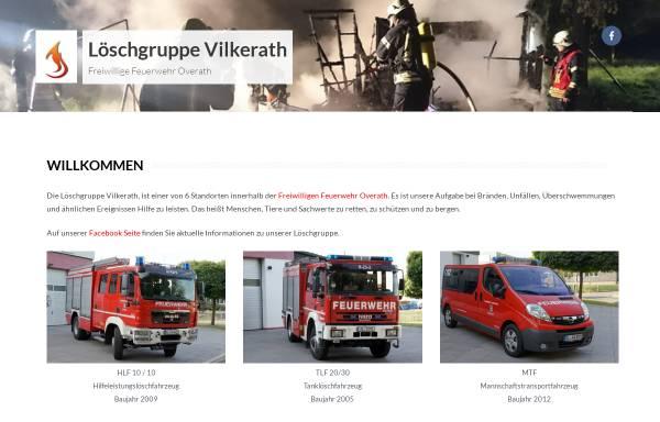 Vorschau von feuerwehr-vilkerath.de, Freiwillige Feuerwehr Vilkerath