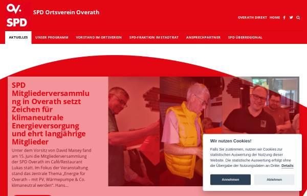 Vorschau von www.spdoverath.de, SPD Overath