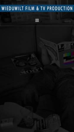 Vorschau der mobilen Webseite www.backfocus-berlin.de, backfocus Film- und TV-Produktion