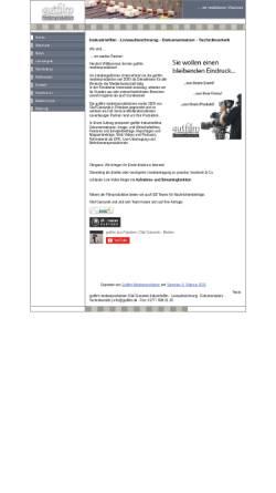 Vorschau der mobilen Webseite www.gutfilm.de, gutfilm medienproduktion