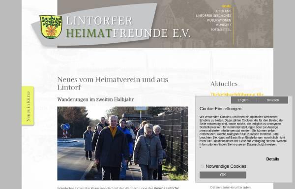 Vorschau von www.lintorf-die-quecke.de, Verein Lintorfer Heimatfreunde e.V. (VLH)
