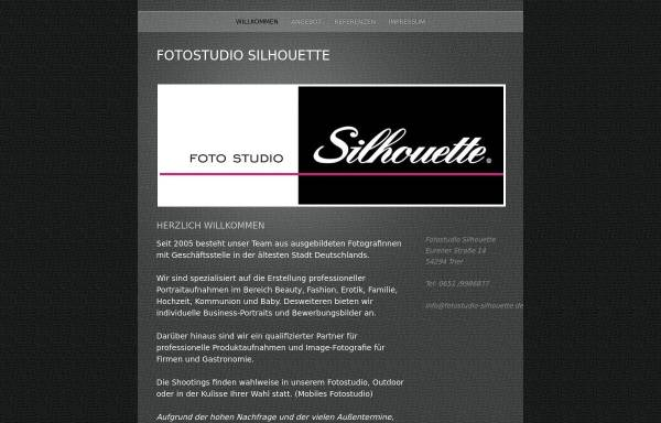 Vorschau von www.fotostudio-silhouette.de, Foto Studio Silhouette