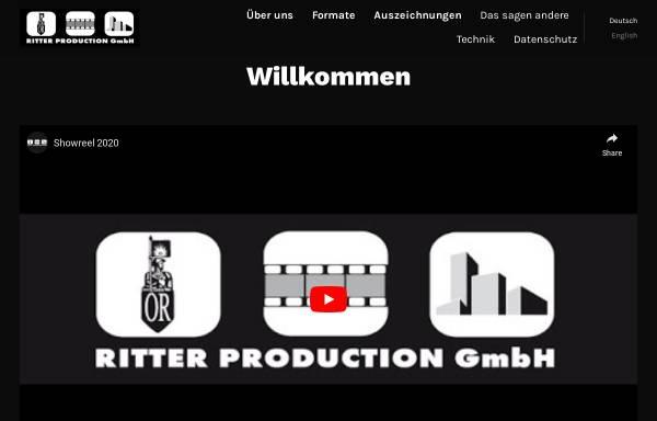Vorschau von www.rittertv.com, RitterTV Film-und Fernsehproduktion