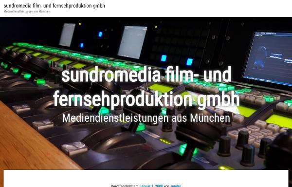 Vorschau von www.sundro.de, Sundro-Film TV Produktion