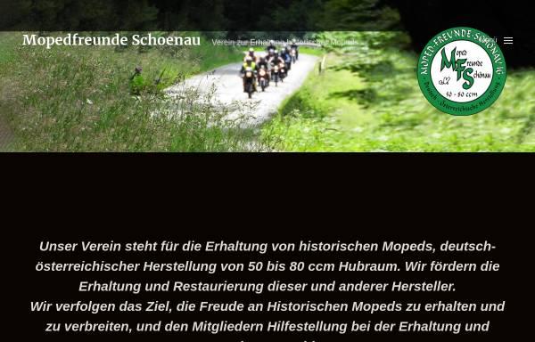 Vorschau von www.mopedfreunde-schoenau.de, Moped-Freunde Schönau IG