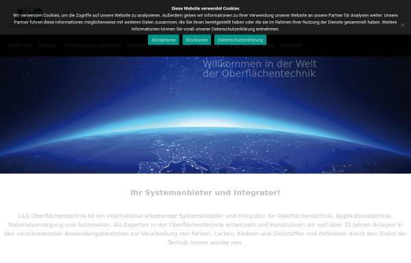 Vorschau von www.ls-oberflaechentechnik.de, L&S Oberflächentechnik GmbH & Co. KG