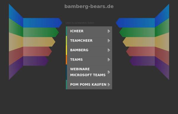Vorschau von www.bamberg-bears.de, Bamberg Bears 1986 e.V.