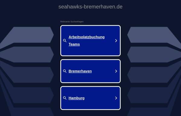 Vorschau von www.seahawks-bremerhaven.de, Bremerhaven Seahawks