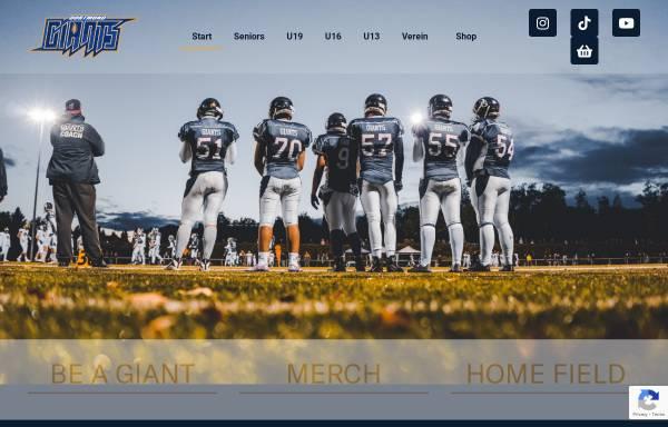 Vorschau von www.dortmund-giants.de, Dortmund Giants, Forum