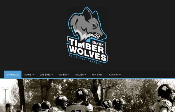 Vorschau von www.franken-timberwolves.de, Franken Timberwolves