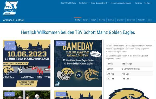 Vorschau von tsvschott.de, Mainz Golden Eagles