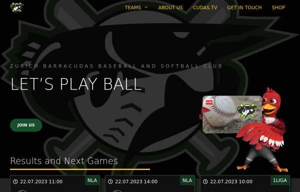 Vorschau von www.kobras.ch, Kobras Baseball Club Zürcher Unterland