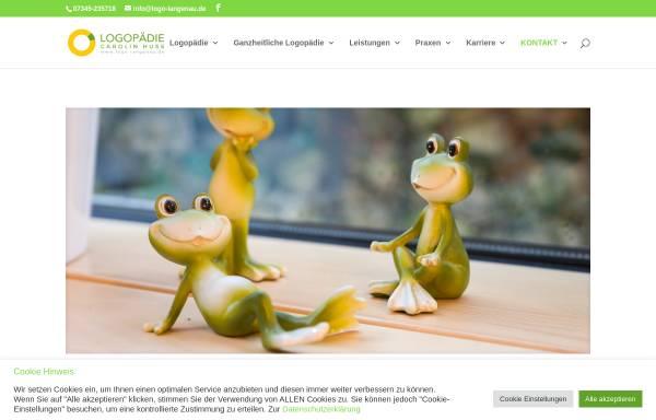 Vorschau von www.logo-langenau.de, Logopädie im Gesundheitszentrum Langenau Carolin Miltner