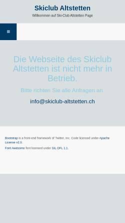 Vorschau der mobilen Webseite www.skiclub-altstetten.ch, SC Altstetten