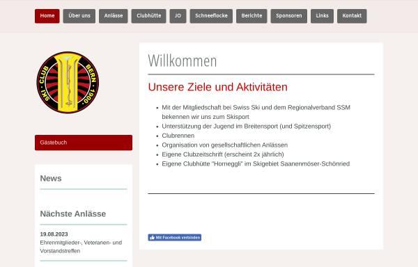 Vorschau von www.skiclubbern.ch, SC Bern 1900