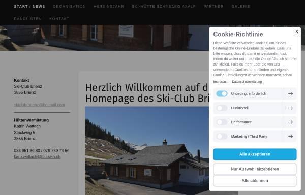 Vorschau von www.skiclub-brienz.ch, SC Brienz