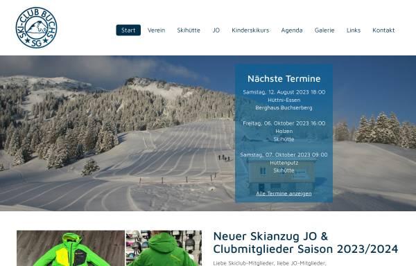 Vorschau von www.skiclub-buchs.ch, SC Buchs