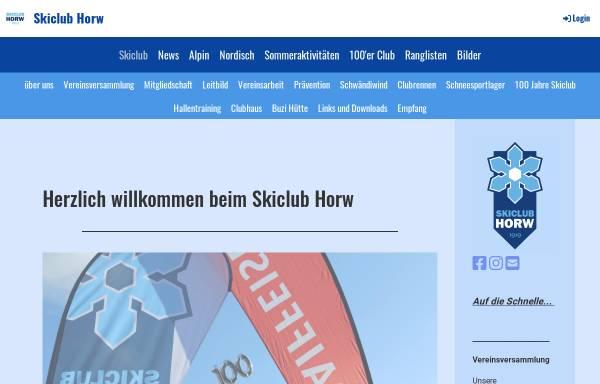 Vorschau von www.skiclub-horw.ch, SC Horw