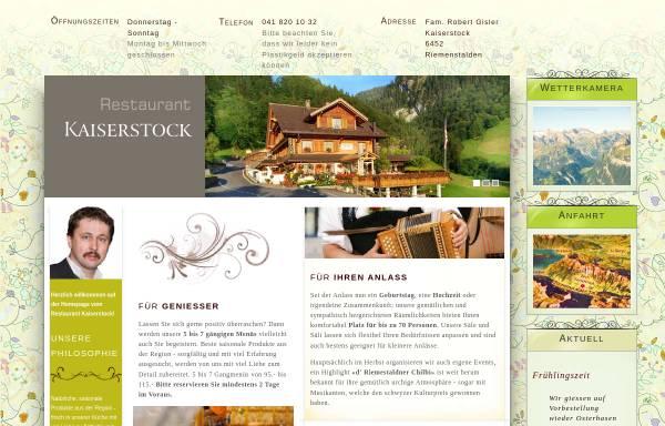 Vorschau von www.kaiserstock.ch, SC Kaiserstock Riemenstalden
