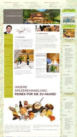 Vorschau der mobilen Webseite www.kaiserstock.ch, SC Kaiserstock Riemenstalden
