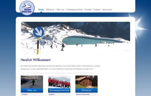 Vorschau von www.skiclub-winterthur.ch, SC Winterthur