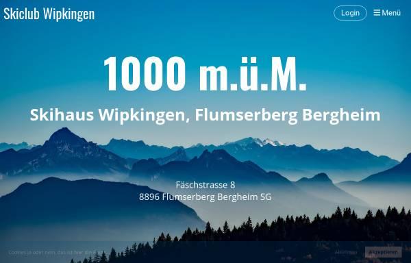 Vorschau von www.sc-wipkingen.ch, SC Wipkingen