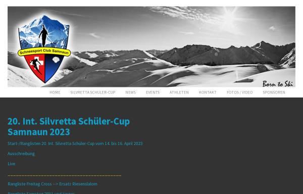 Vorschau von www.ssc-samnaun.ch, Schneesport Club Samnaun