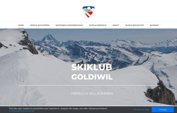 Vorschau von www.skiklubgoldiwil.ch, Ski Klub Goldiwil