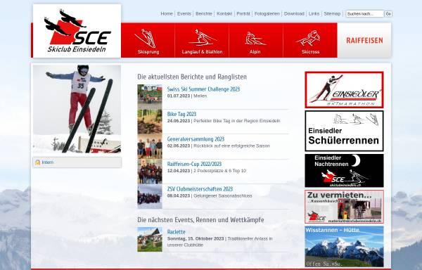 Vorschau von www.skiclubeinsiedeln.ch, Skiclub Einsiedeln