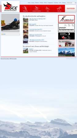Vorschau der mobilen Webseite www.skiclubeinsiedeln.ch, Skiclub Einsiedeln