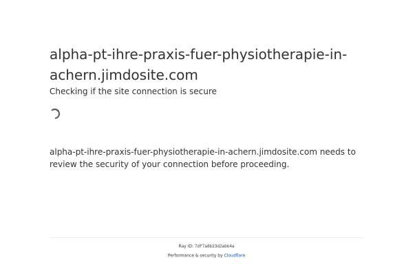 Vorschau von www.alpha-pt.de, Alpha-PT - Praxis für Physiotherapie