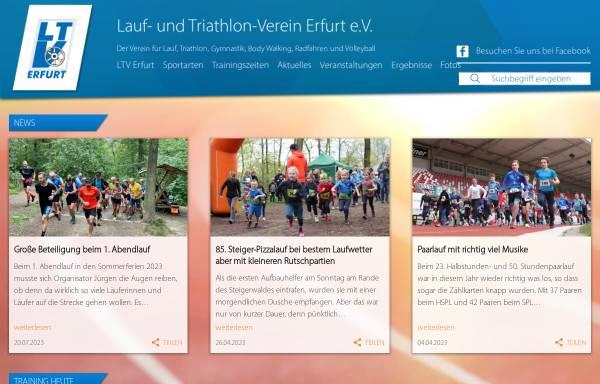 Vorschau von www.ltv-erfurt.de, LTV Erfurt