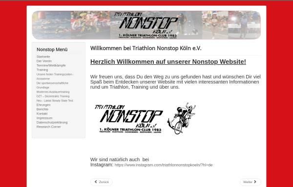 Vorschau von www.nonstop-koeln.de, Triathlon NONSTOP Köln