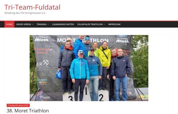 Vorschau von www.tri-team-fuldatal.de, Triathlon Team Fuldatal