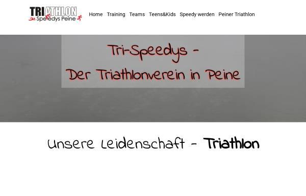 Vorschau von www.tri-speedys.de, Tri-Speedys Peine