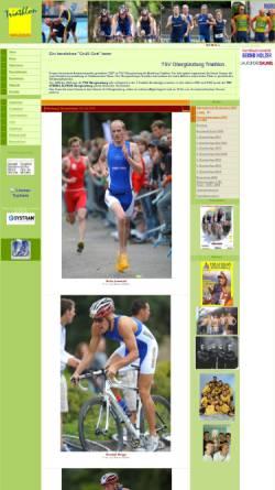 Vorschau der mobilen Webseite www.triathlon-oberguenzburg.de, TSV Oberguenzburg Triathlon