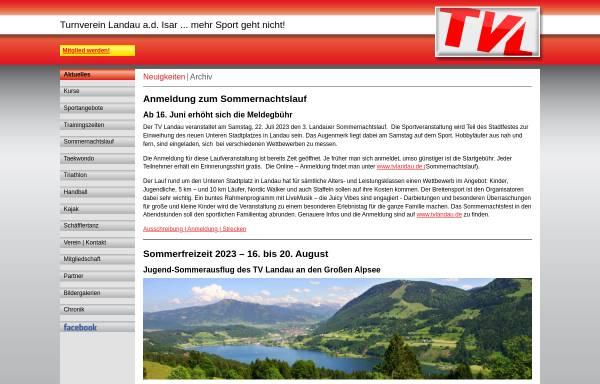 Vorschau von www.tvlandau.de, TV Landau Triathlon