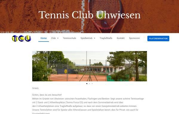 Vorschau von www.tc-uhwiesen.ch, Tennisclub Uhwiesen