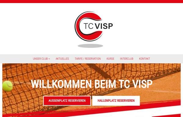 Vorschau von www.tcvisp.ch, Tennisclub Visp