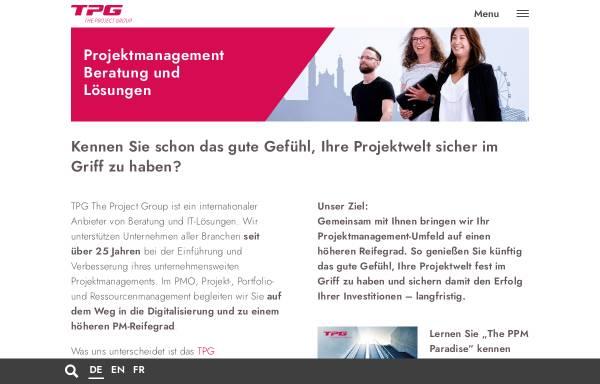 Vorschau von www.theprojectgroup.com, The Project Group