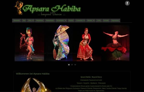 Vorschau von www.apsarahabiba.de, Apsara Habiba