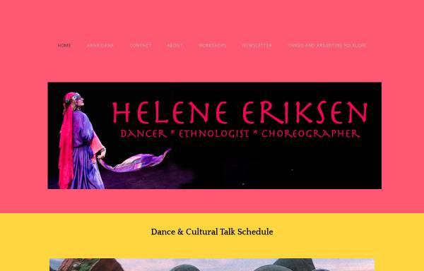 Vorschau von www.helene-eriksen.de, Helene Eriksen