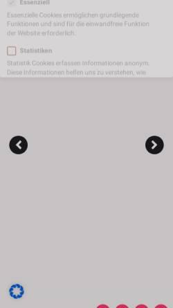 Vorschau der mobilen Webseite izida.de, Izida