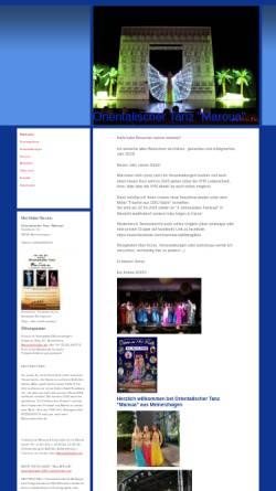 Vorschau der mobilen Webseite bauchtanz-maroua.de, Maroua