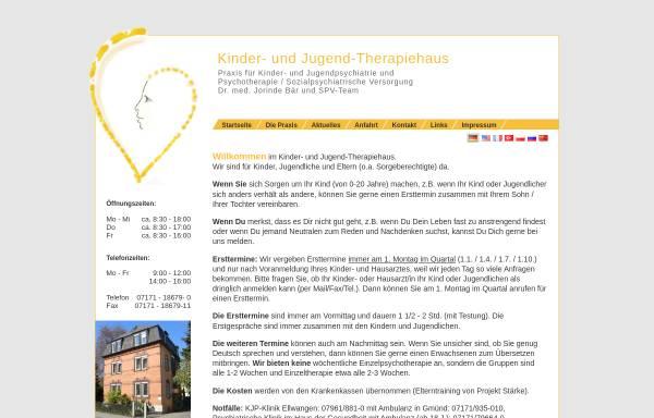 Vorschau von www.praxis-baer-gmuend.de, Dr. med. Jorinde Bär