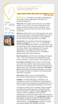 Vorschau der mobilen Webseite www.praxis-baer-gmuend.de, Dr. med. Jorinde Bär